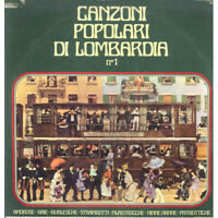 ) Feat LP Vinyle Chansons Populaires Di Lombardia N 1 / Signal SLP66 Neuf