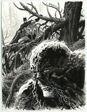 Batman and Swamp Thing 2020 by BILL REINHOLD