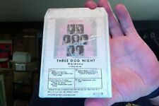 Three Dog Night- Harmony- used 8 track tape- decent shape