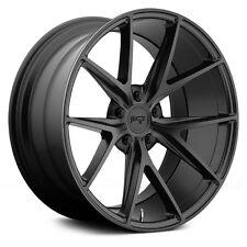 """18"""" Staggered Niche Misano M117 Black Wheels Rims 5x112 Mercedes Benz W204 C"""