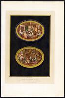 Antique Print-BAPTISM-BABY-VAN BLARENBERGHE-PAINTING-ART-Lacroix-1878