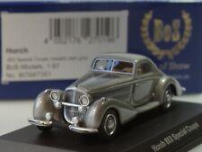 Bos Horch 853 speciale Coupe, Grigio Metallico - 87351 - 1:87