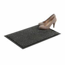 Schmutzfangmatte grau, Fußmatte Innen, Schmutzmatte groß, Fußabtreter, Türmatte
