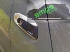 Carbon Fiber indicator Covers Mini Cooper S F56 F55 F57 Gen3 de-chrome blackout
