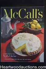 McCall's Apr 1951 Al Parker; Alex Ross; Tom Lovell Art, ads for Campbell's, Ivor