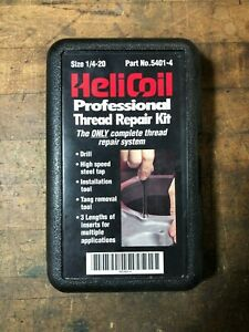 Helicoil Thread Repair Kit, 1/4-20, 5401-4