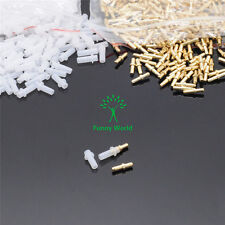 1000sets Dental Lab Single PIN WITH White SLEEVES Suppliers short 10mm