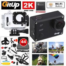 Gitup Git2P WiFi 2K 1080P FHD Helmet Action DVR Sports Camera 44 Professional
