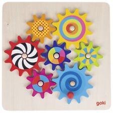 Zahnradspiel Kombinationsspiel Lernspiel Spielzeug Holzspielzeug Kinder