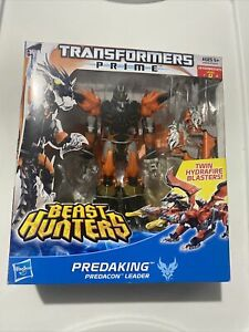 Transformers Prime Beast Hunters Predaking Voyager Class New