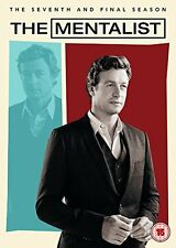 THE MENTALIST - COMPLETE FINAL SEASON 7 - DVD - UK Region 2 / sealed