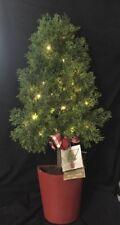 Pier 1 One Imports Christmas Light Up LED Christmas Tree Decor