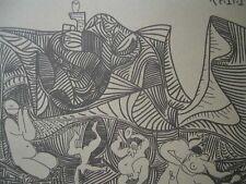 Pablo Picasso - Bacanal , Ed. limitada 333 ejemp.numerada. SPADEM