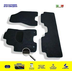 /'12-... Set Completo Moquette Qualità 1Ricamo Tappetini su Misura Hyundai i30