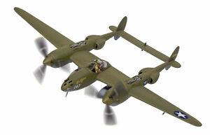 """Corgi 1:72 USAAF Lockheed P-38G Lightning Interceptor - """"Miss Virginia"""" #AA36615"""