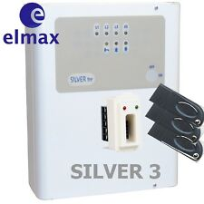 Kit Centrale allarme elmax Silver 3 con 3 chiavi ed un inseritore BLINDATA