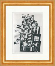 Das Dritte Reich Gerd Arntz Armee Kanonen Krieg Kunstdruck Plakatwelt 761