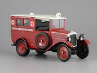 AMO-F-15 Ambulance First Soviet Truck 1924 Year 1/43 Scale Collectible Model Car