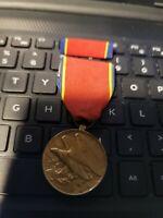Korea Naval Reserve Faithful Service Medal  Cramp Brooch Original Rare Thick