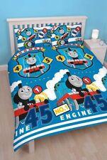 Ropa de cama color principal azul para niños de Thomas y sus amigos