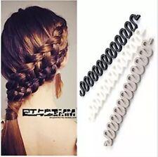 As Seen On TV 3PC Women Hair Styling Clip DIY French Hair Braiding Tool