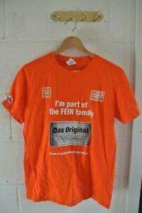 Fein 'I'm part of the FEIN family' T-Shirt M Orange