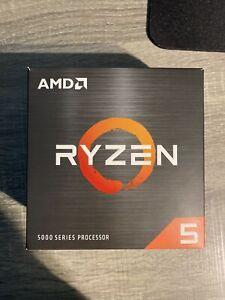 AMD Ryzen 5 5600X Desktop Processor (4.6GHz, 6 Cores, Socket AM4) Box -...