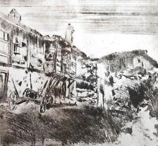 1989 Landscape impressionist print signed