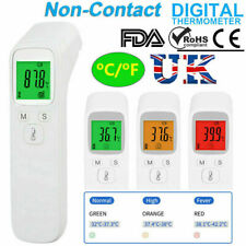 Non-Contact Digital Infrared Baby Adult Body Forehead Measurement Thermometer