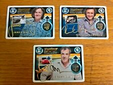 Top Gear Turbo Challenge trading cards: set of 3 Ultimate Autograph Cards