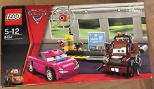 LEGO CARS 2 HOLLEY SHIFTWELL MARTIN MATER 8424 DISNEY PIXAR LA BASE DES ESPIONS