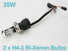 Hid Xenon H4 Bulb For All Cars / Bikes 6000K