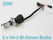 Hid Xenon H4 Bulb For All Cars / Bikes 6000K