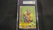 1972/73 TOPPS NHL HOCKEY CARD #72 BUTCH GORING KSA 10 GEM MINT SHARP!! 72/73