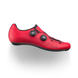 Fizik Red R1 Infinito Road Cycling Shoes Size 41 - $400 MSRP