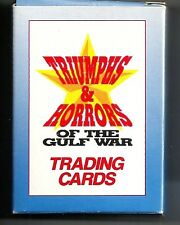 Triumphs & Horrors of the Desert Storm Gulf War 50-card Factory Set