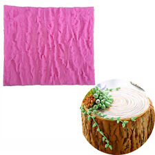 Tree Bark Line Texture Shape Fondant Cake Mold Food Grade Silicone DIY Cake Mold