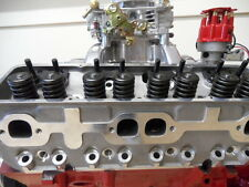 CHEV SBC ALLOY CYLINDER HEADS 180CC RUNNER COMPLETE WITH STUDS & GUIDE PLATES