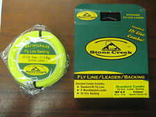 Stone Creek Fly Fishing Line Combo WF 8 Line + Leader + Backing Brand New