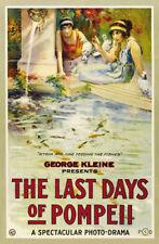 GLI ultimi giorni di Pompei George kleine Movie Poster