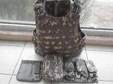 ACU Combat Tactical Soft Bullet proof vest IIIA NIJ0101.06