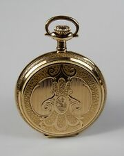 1915 Illinois Full Hunter Grade 404 Antique Arkema Special Pocket Watch 14k GF