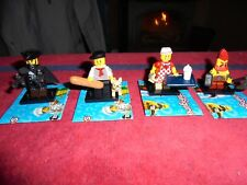 Lego minifigures series 17, personnages 6 9 10 16 NEUFS