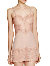 CLEARANCE!! Wacoal Embrace Lace Chemise 814191 Tan Size Small