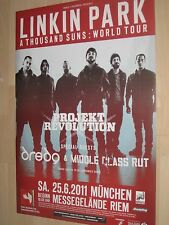 Linkin Park Tourplakat/Tourposter 2011 - Messegelände München