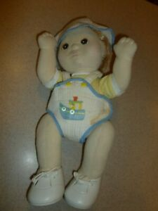 Mattel My Child Doll Blonde Boy  Rare Vintage Toy Dressed Outfit