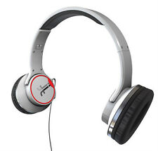 Flips Audio Satin HD Solo 2 Social Headphones FLWH6030713 White - B