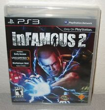 INFAMOUS 2 Sealed NEW PlayStation 3 PS3 Action Adventure w/super powers