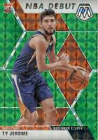 2019-20 Panini Mosaic NBA Debut Green Prizm Ty Jerome #273 Rookie