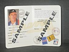 Greg Maddux 1997 Pinnacle Passport To The Majors Booklet PROMO #1 Braves TOUGH